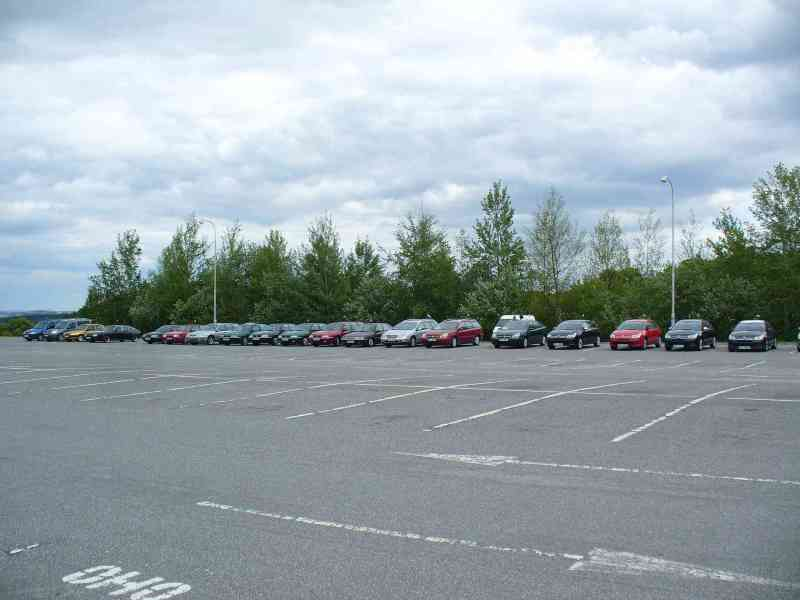 parkoviště temelínu