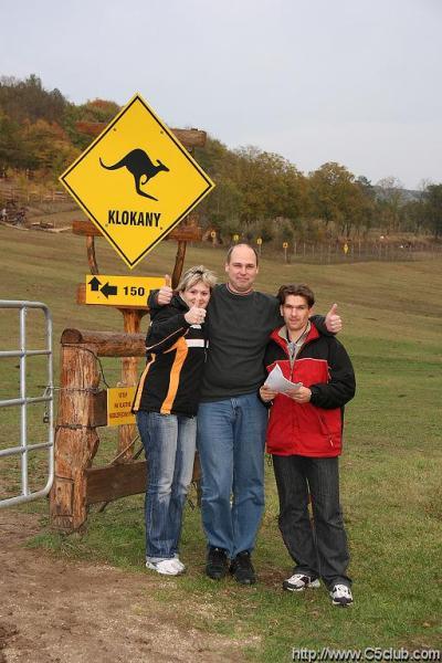 sraz Pieštany...foto na ranči u klokanů..jedna ze sotežních kategorií....