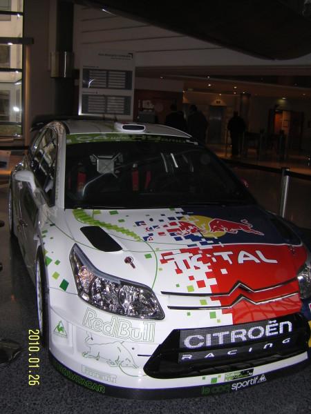 WRC hybrid ...vystaven v Paříži ve firmě PSA