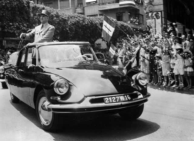 Charles de Gaulle nedal na Citroën DS nikdy dopustit